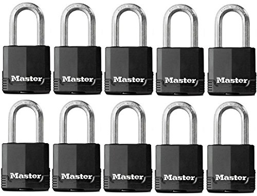 "Master Lock Padlock Magnum 1-3/4"" 1-1/2"" Ka To Key # 2682 Steel"
