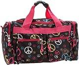 Rockland Duffel Bag, Peace, 19-Inch