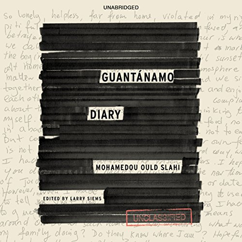 Guantánamo Diary audiobook cover art