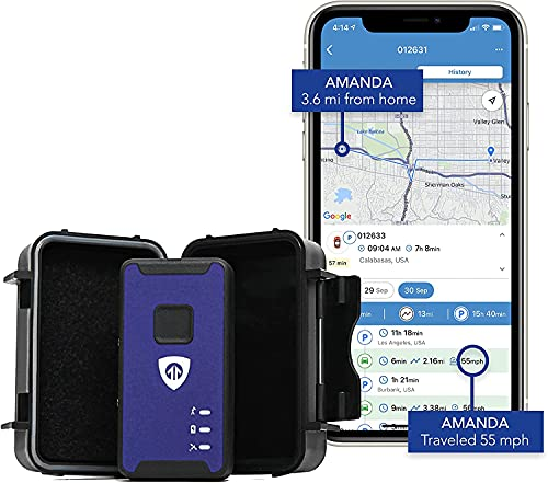 Brickhouse Security Spark Nano 7 GPS Tracker with Magnetic Waterproof Weatherproof Case for Car,...
