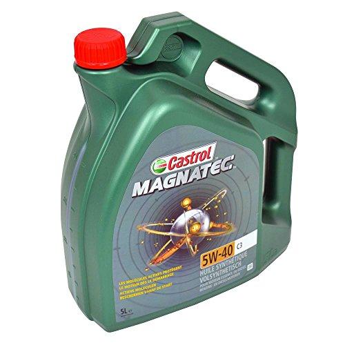 Olio motore Castrol Magnatec 5W-40 C3, 5 litri