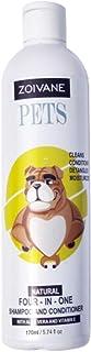 Zoivane Dog Shampoo with Conditioner 170 ml 5 in 1 Herbal (Shampoo and Conditioner for dogs with Aloe Vera)