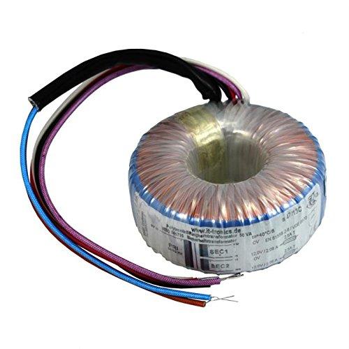 Ringkerntrafo 50VA 230V -> 2x12V / 1x24V ; Sedlbauer, RSO-826020