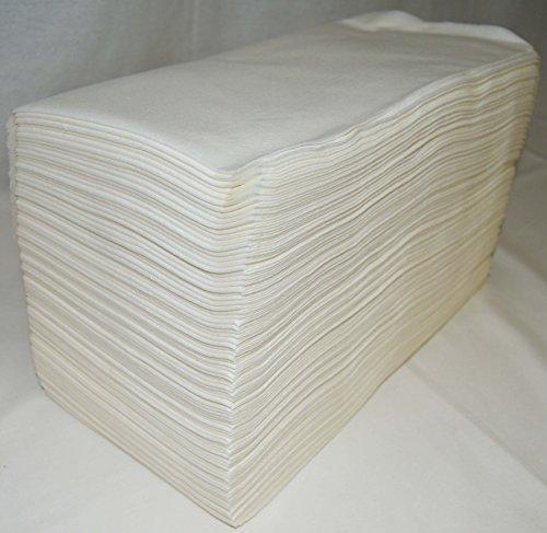 Cosmobellas - Asciugamani di cellulosa 40x 80,100unità, per parrucchiere/estetica