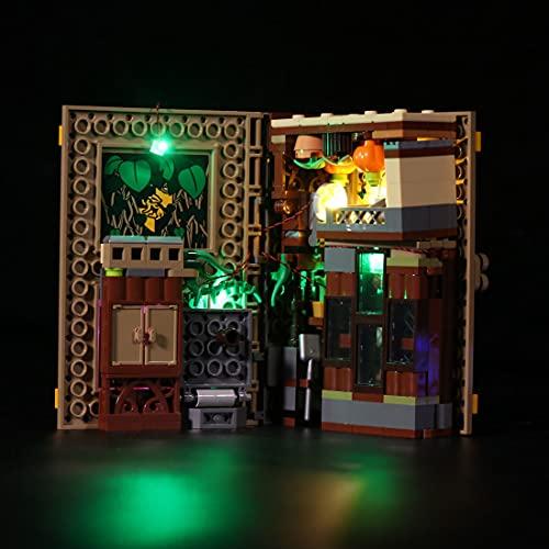 GILE Juego de iluminación LED Customized para Lego Harry Potter Hogwarts Moment, juego de iluminación compatible con Lego 76384 (sin juego de Lego)