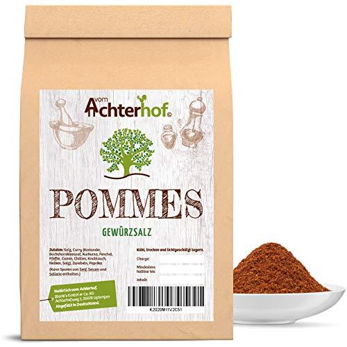 Pommes-Gewürz-Salz ohne Glutamat 250 g Pommesgewürz natürlich vom-Achterhof