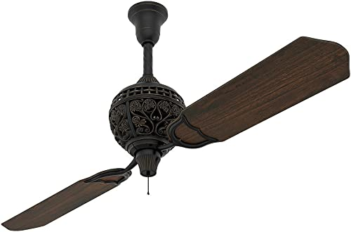 """new arrival Hunter Fan Company 18865 Hunter 1886 outlet sale Limited Edition Indoor ceiling Fan online with Pull Chain Control, 60"""", Midas Black outlet sale"""