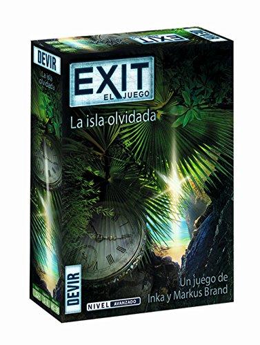 Devir - Exit: La isla olvidada, Ed. Español (BGEXIT5) , color/modelo surtido