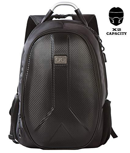 OG Online Go Getaway Mochila Moto Impermeable  Hombre  Rígida  Gran Capacidad  Expandible