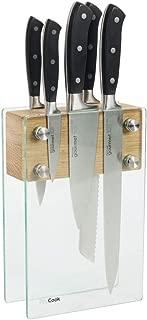 ProCook Gourmet X30 Knife Set 5 Piece with Glass Block