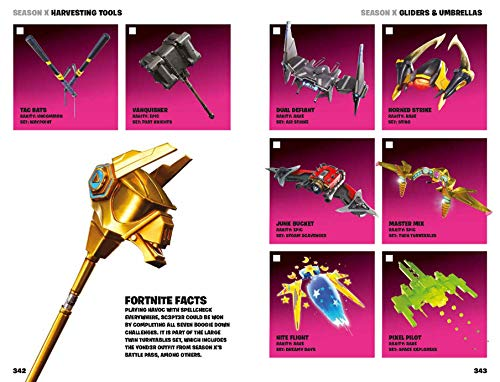 FORTNITE Official: The Ultimate Locker: The Visual Encyclopedia (Official Fortnite Books)