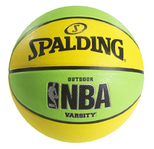 New Spalding NBA Varsity Neon Outdoor Basketball