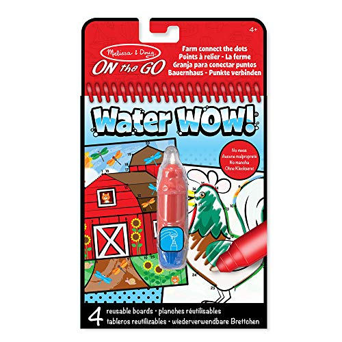 Melissa & Doug-Water Wow-Connect The Dots, Multicolor (19485)