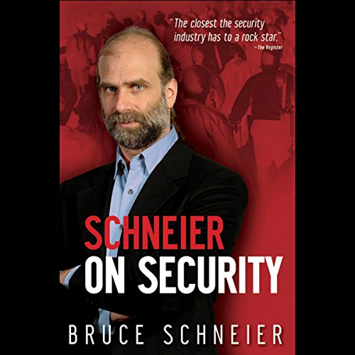 Schneier on Security audiobook cover art