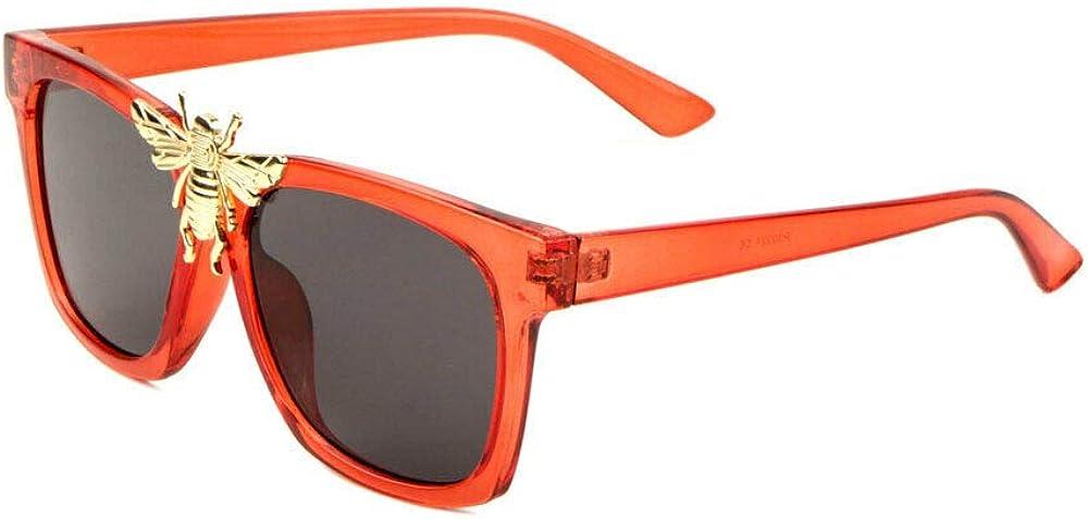 3D Big Killer Bee Luxury Sunglasses Ranking TOP14 Hip Square Classic Hop Genuine