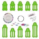 Juego accesorios para hacer cinta al bies, alfileres para el hogar, manualidades, tela plegable,...