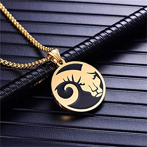 Collar De Constelaciones,12 Constelaciones Aries Moda Collar Para Homb