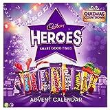 Cadbury Heroes - Calendario dell'Avvento con Cioccolato, 230 g