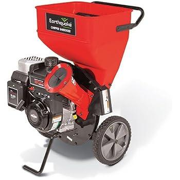 Earthquake 9060300 Chipper Shredder with 205cc 4-Cycle Briggs & Stratton Engine, 5 Year Warranty