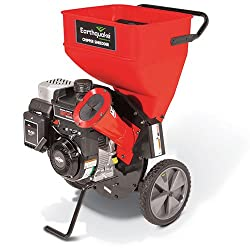 The best gas powered wood chipper for home use - Earthquake 9060300 Chipper Shredder - 205cc