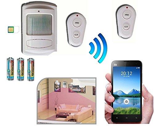 Allarme Antifurto a Batteria con Combinatore Telefonico GSM / Telecomando / Sirena On Board
