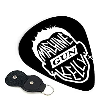 Ma-Chine Gun Kelly Mgk Personalized Guitar Picks 6-Pack For Electric Guitar Acoustic Guitar,And Bass Etc  0.71mm