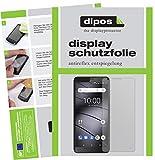 dipos I 2X Schutzfolie matt kompatibel mit Gigaset GS100 Folie Bildschirmschutzfolie