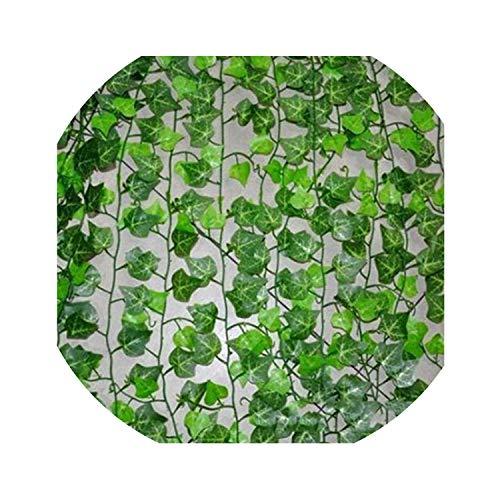 Trend R STORE 200 cm Kunstmatige Ivy Leaf Garland Planten Plastic Groen Lange Wijnstok Fake Gebladerte Bloem Home Decor Bruiloft Decoratie size Kleur