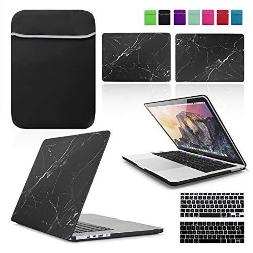 LOVER MY CASE / BUNDLE RETINA 13 - TECLADO Y NEOPRENO negro MARBLE BLACK 13 -inch MacBook Pro with Retina Display