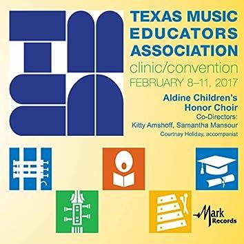 2017 Texas Music Educators Association (TMEA): Aldine Children's Honor Choir [Live]