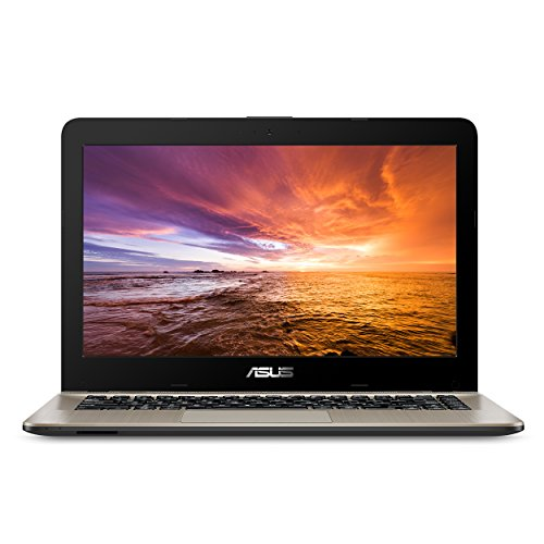 """Asus VivoBook F441 Light and Powerful Laptop, AMD A9 Dual Core Processor (Boost Up to 3.6 GHz), Radeon R5 Graphics, 8GB DDR4 RAM, 256GB SSD, 14"""" FHD Display, Windows 10, F441BA-DS94"""