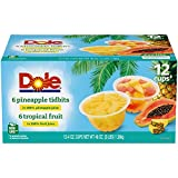 All Natural Fruit: DOLE Pineapple Tidbits and Tropical Fruit in 100% Fruit Juice are made from the best sun-ripened fruit nature has to offer, and are non GMO and naturally gluten free; DOLE FRUIT BOWLS are individually wrapped and made with the best...