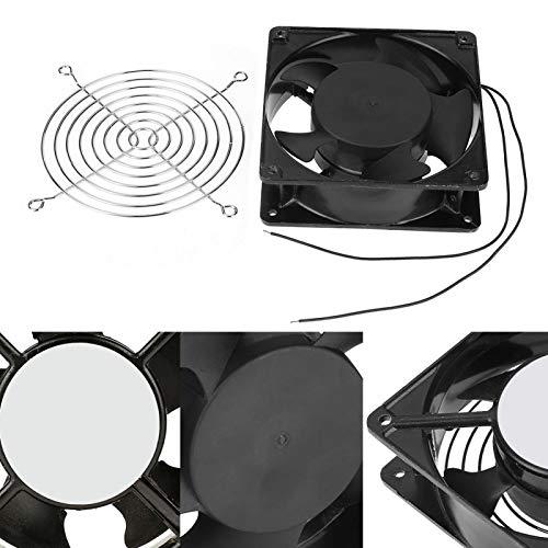 SALUTUYA Ventilador de Aire para incubadora 12 * 12 * 4 cm para incubadora