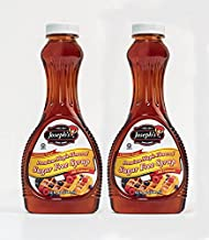 Joseph's Sugar Free Maple Syrup, 12oz - Pack of 2