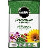 Image of Miracle-Gro Performance Organics All Purpose Compost - 40 Litre Bag, 100% Organic, Grey