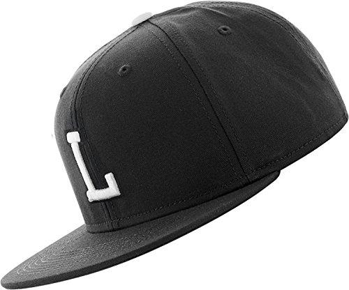 C3 Letter Snapback Cap - noir - L