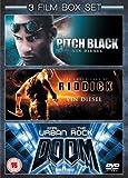 Pitch Black/Doom/Chronicles of [Reino Unido] [DVD]