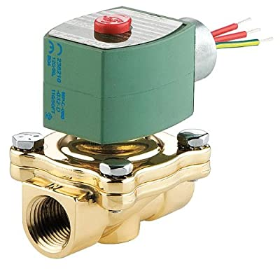 Solenoid Valve, General, 2 Way, NC, 1/2 In from Asco