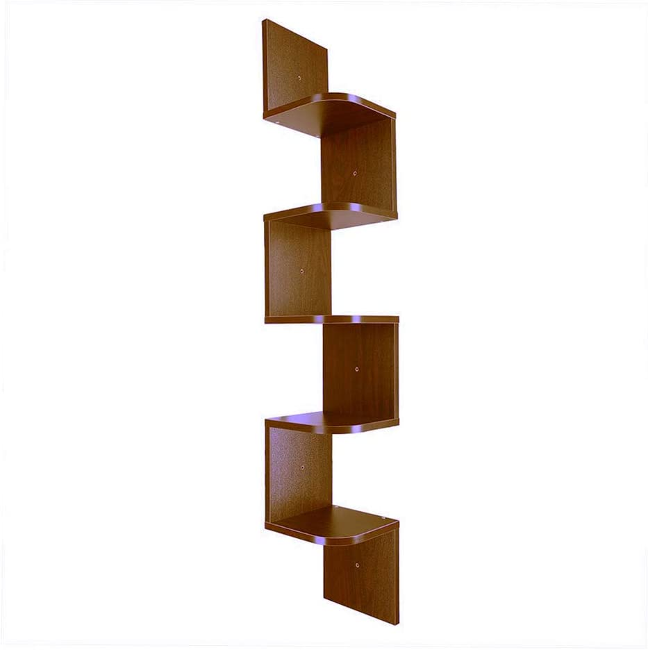 5 Tier Home Decor Sale Special Price Wall Mount Complete Free Shipping Shelf Square Li Corner for Floating