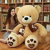 N\C 80-200cm Teddy Bear Plush Pillow Big Soft Anime Beat Plush Toy Gifts