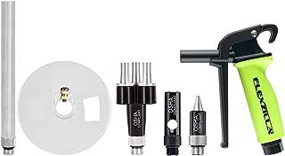 Flexzilla X3 6 Piece Blow Gun Kit, Quiet-Flo Tip, Xtreme-Flo Tip, 6 in. Extension, Chip Guard - AG1200FZKIT