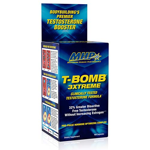 MHP Clinical Strength T-Bomb 3xtreme, Five-Phase Hormone Optimizing...