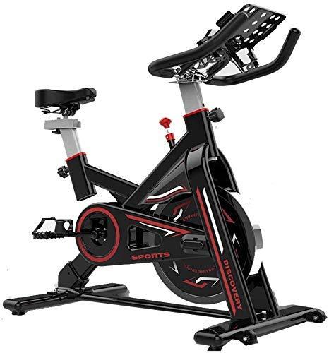 XUSHEN-HU Bicicleta de ejercicio de ciclismo indoor, manillar ajustable del asiento Resistencia, inteligente App ordenador lee velocidad Distancia Tiempo etc, con el giro de múltiples funciones de sop
