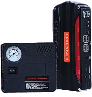 Accessori per auto MSW S-CHARGER-65A.2 Avviatore di Emergenza per Auto Caricabatterie Mantenitore di Carica 12/24V, A 50-800 Ah, Display a LED, Timer, 230 V, 12 kW, per batterie al Piombo Acido, Grigio