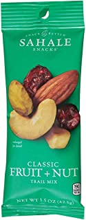 Sahale Classic Fruit and Nut Glazed Trail Mix, 1.5 Ounce -- 18 per case.