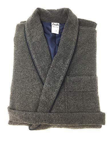 Badjas voor heren van zachte wol en warme dueffe soort. Versacea