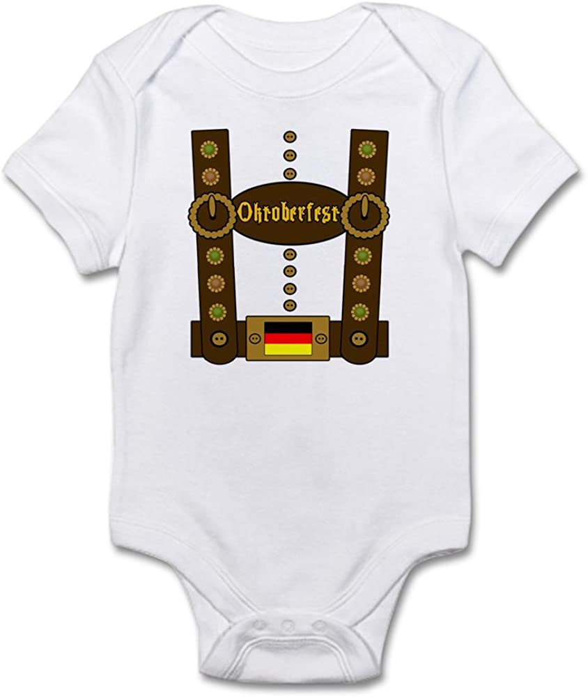 CafePress 1St Oktoberfest Fox Baby Tutu Bodysuit