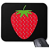 Smity-Mode entwarf Mousepad 30 * 25 * 0,3 cm Büro-und Familien-Tischplattenauflagen rote Erdbeere. Mauspad