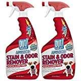 OUT! PetCare Advanced Stain and Odor Remover 2 Pack | Pro-Bacteria and Enzyme