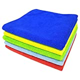 SOFTSPUN Microfiber Cleaning Cloth for Car, Home & Kitchen - Automotive Drying Towel
